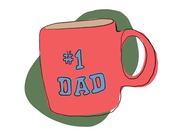 Vision dad mug