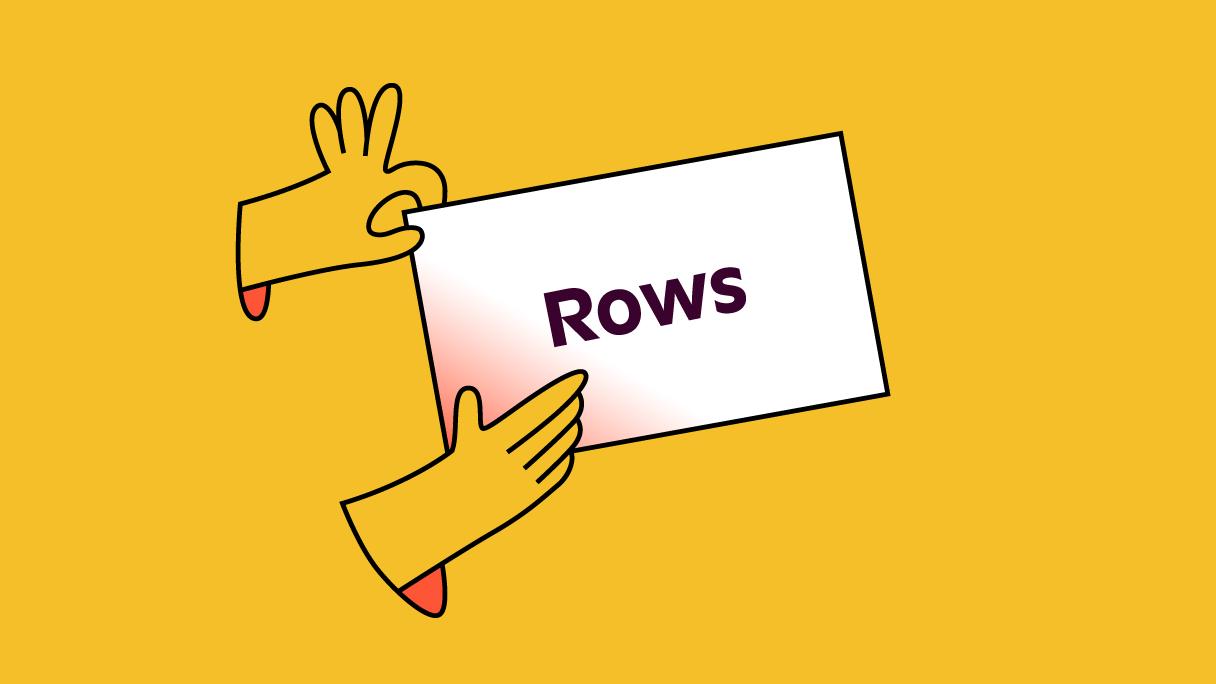 Rows 16 9