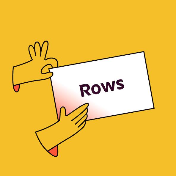 Rows thumb square