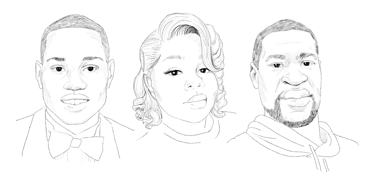 Arbery taylor floyd portraits