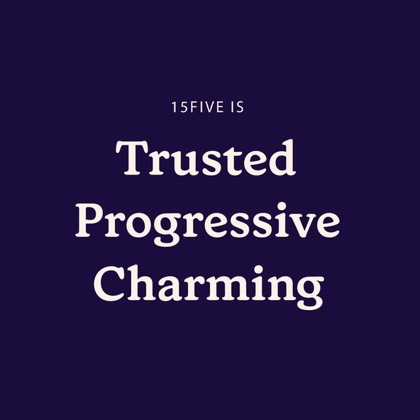 15Five is trusted, progressive, charming