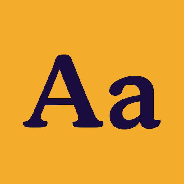 A sample of the Cornbread Honey typeface