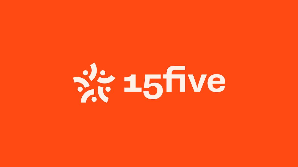 15Five Logo on orange