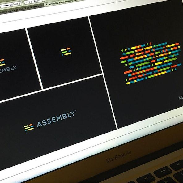 Assembly on black 2x