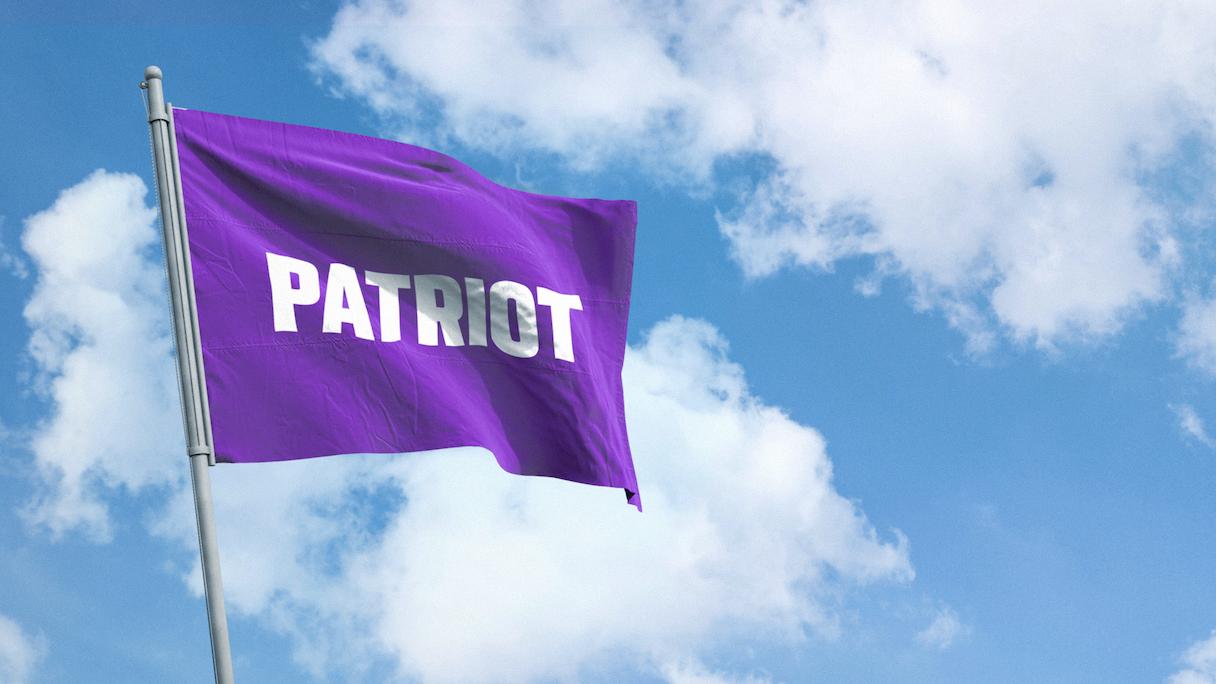 Patriot flagmock2