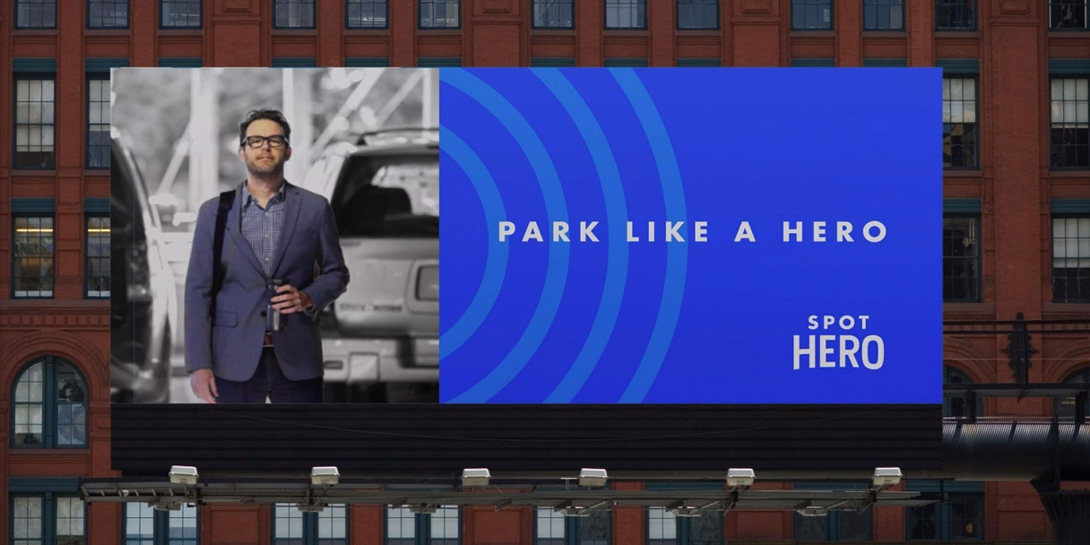 Spot Hero Billboard
