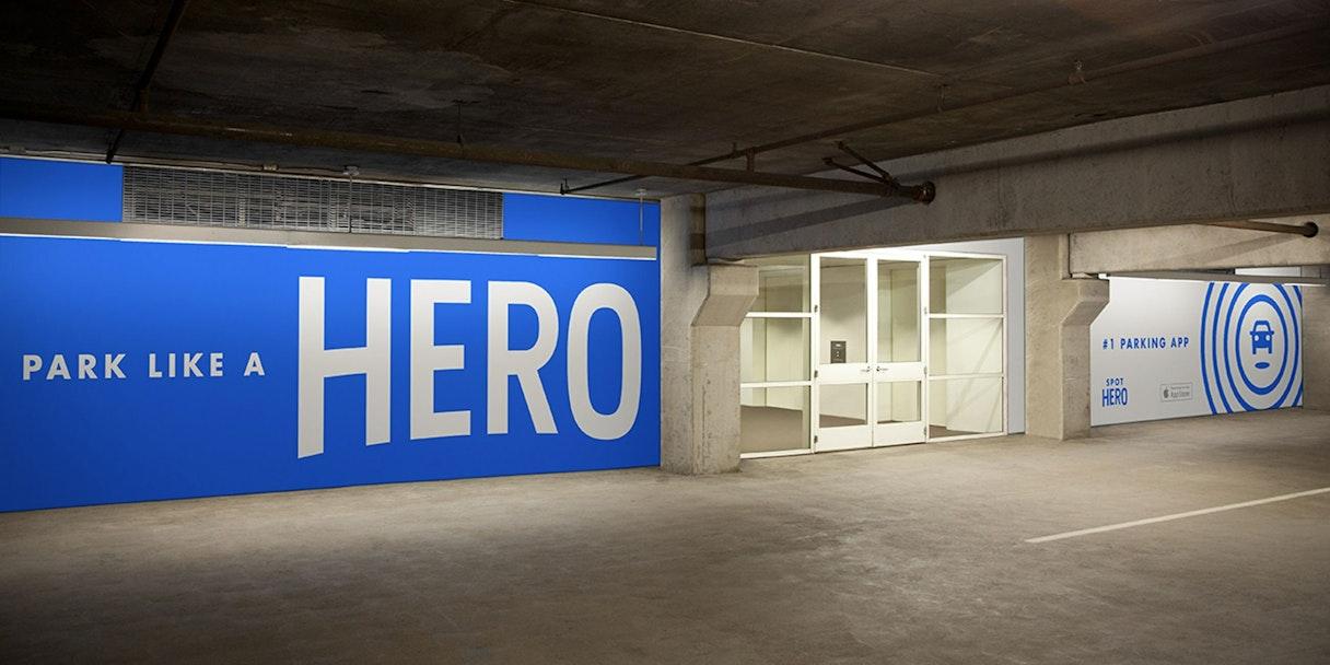 Spot Hero Parking Garage 2x