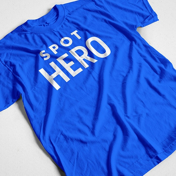 Spot Hero Shirt Mockup 2x
