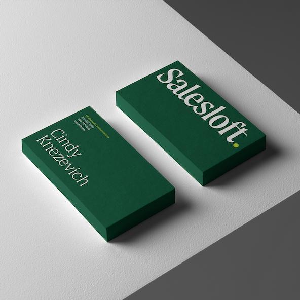 Salesloft business cards