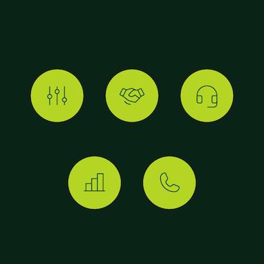 Custom icons for Salesloft