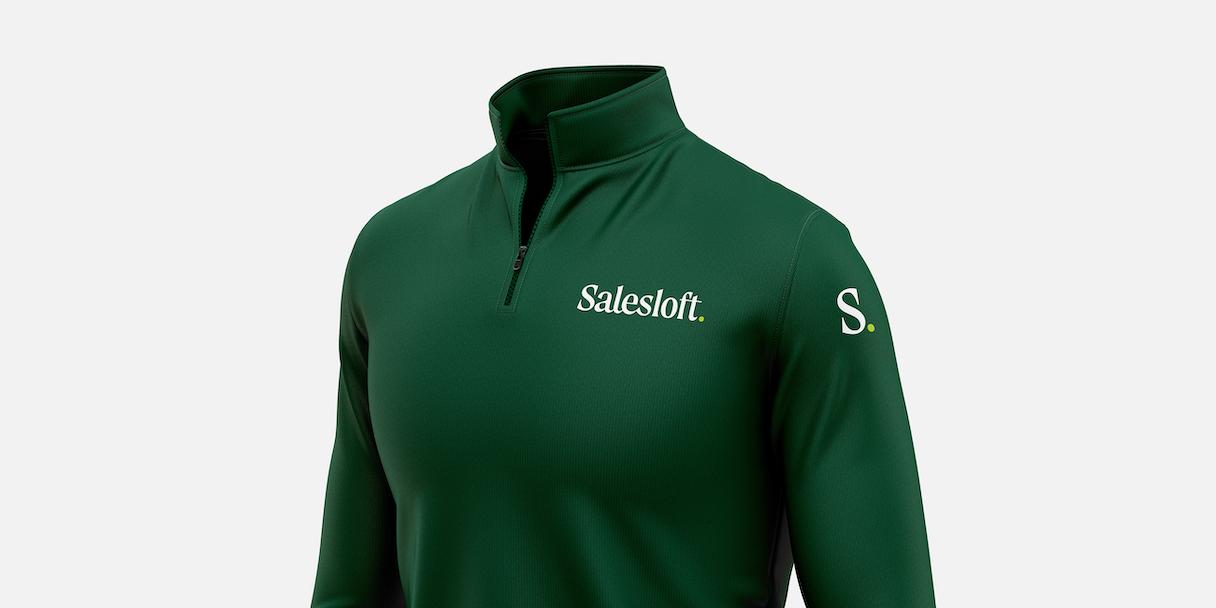 Salesloft branded jacket