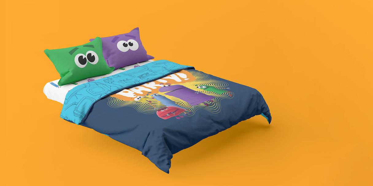 Storybots bed