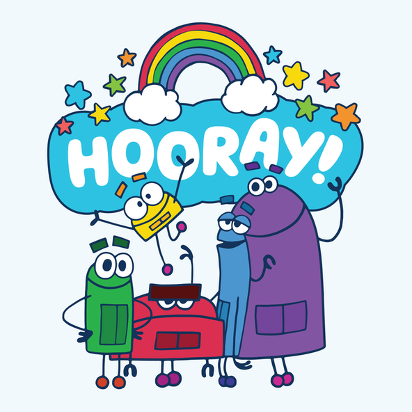 Storybots hooray2