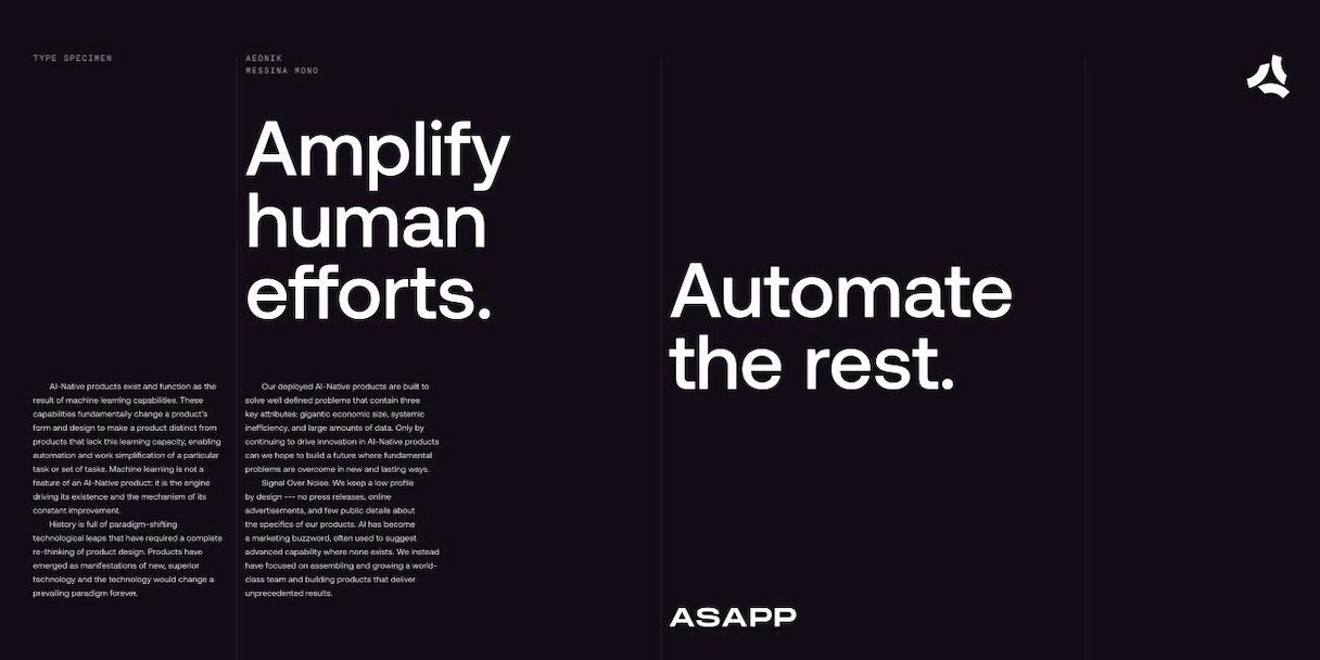 ASAPP type